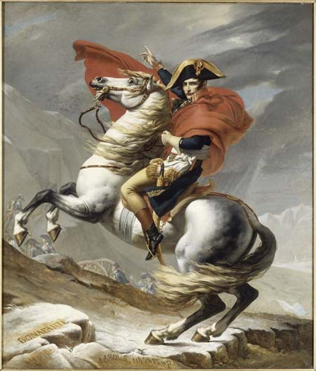 Image result for napoleon crossing the alps
