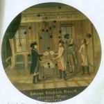 Cible peinte : Préliminaires de Paix conclus à Leoben, en Styrie, le 18 avril 1797.