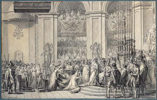 Le sacre ou couronnement © Fondation Napoléon / Patrice Maurin-Berthier