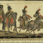 Costumes des guides chasseurs à cheval de la Garde impériale