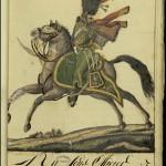 Sous-officier des guides chasseurs à cheval de la garde impériale