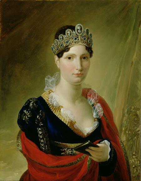 Portrait of Elisa Baciocchi, Grand Duchess of Tuscany