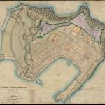 Cadastral map of Portoferraio, Elba