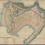 Plan de Portoferraio de 1841 : <i>COM: DI PORTOFERRAJO , Sezione A, detta della città Foglio Unico</i>