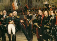 Bicentenary of Napoleon's Farewell in Fontainebleau