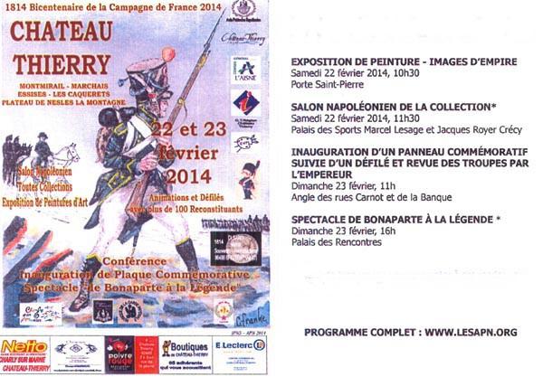 Bicentenaire de la campagne de France à Château-Thierry