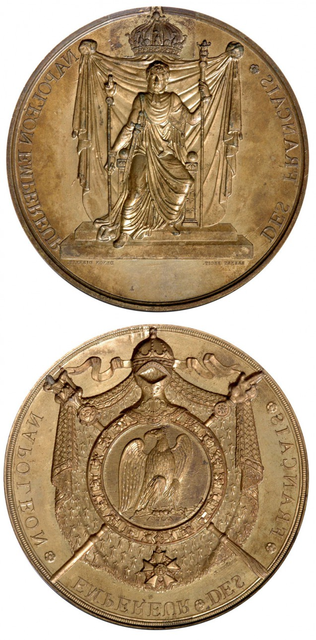 Matrices of the Seal and Counter-Seal of His Majesty Napoleon I (1805)