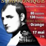 """Fabien Ramade : """"Napoléon Symphonique"""" au Théâtre antique d'Orange (avril 2014)"""