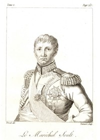 <i>Le Maréchal Soult</i>. Engraved by Tassaert, n.d.&#8221; />When Soult returned from Zuran Hill, he issued his final orders to his division commanders as the troops were finishing the last of a triple ration of brandy. General Saint-Hilaire relayed Soult&#39;s orders to his subordinates. The 2d Brigade, on the division&#39;s left, was to seize the peak of Stare Vinohrady and then operate in conjunction with Vandamme&#39;s division. The two battalions of the Advanced Guard were to seize the Pratzeberg, while the 1st Brigade cleared the village of Pratz in the saddle between the two peaks and then joined the Advance Guard on the Pratzenberg. General Saint-Hilaire would accompany the Advance Guard. Several days before, Napoleon had given instructions to Marshals Soult and Bernadotte as to how he wished each division to be formed. The first regiment was to be deployed in line; the second in closed battalion column, behind the first, in order to have both the firepower of the line and the shock of the column available (<A class=texteIntro href=