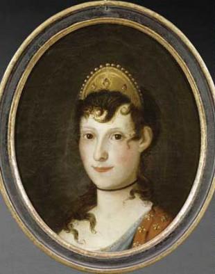 Portrait rétrospectif de Letizia (Anonyme), <br>© Musée national de la Maison Bonaparte