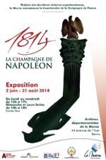 1814, la C(h)ampagne de Napoléon : exposition à Reims