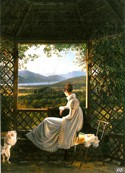 La reine Hortense, par Antoine-Jean Duclaux, Napoleonmuseum, Arenenberg