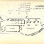 Plan de l'ermitage de la Madonna del Monte à Elbe