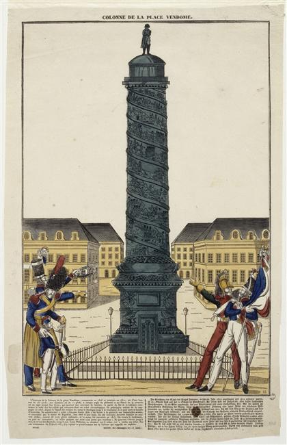 Napoleonic Monuments. The Vendôme Column: Napoleon rules Paris
