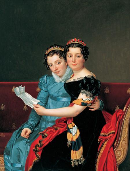 Zénaïde et Charlotte Bonaparte