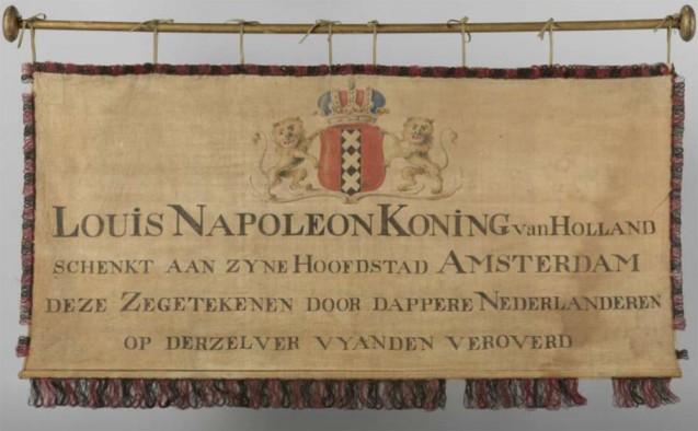 Bannière de Louis Bonaparte, roi de Hollande