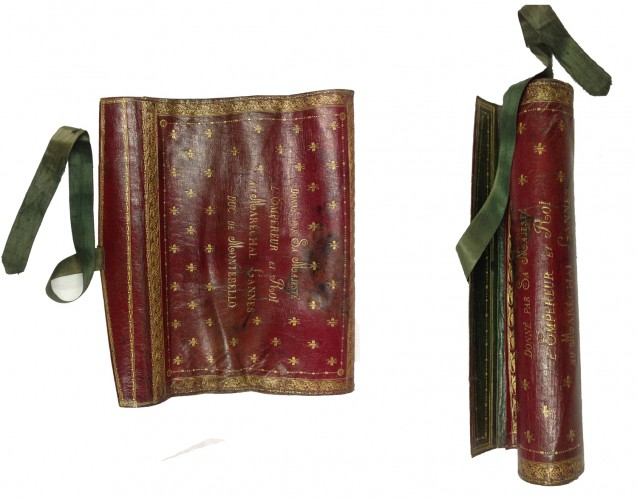 Portable writing case belonging to Marshal Lannes given by Napoleon 1er