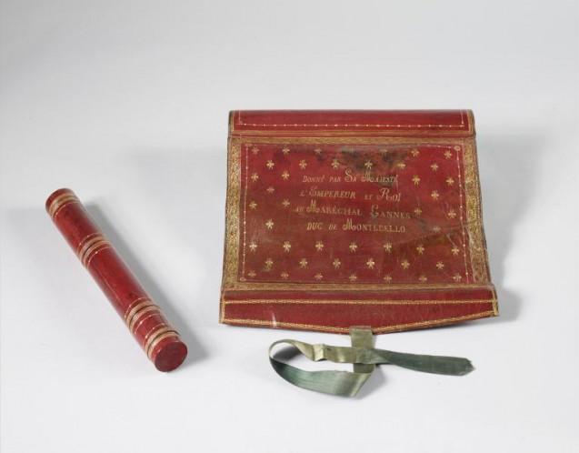 Écritoire de campagne du maréchal Lannes offert par Napoléon Ier