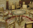 The gilded salon of the Empress at Malmaison, nowadays © RMN