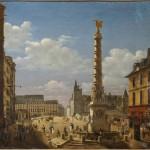 La fontaine et la place du Châtelet en 1810