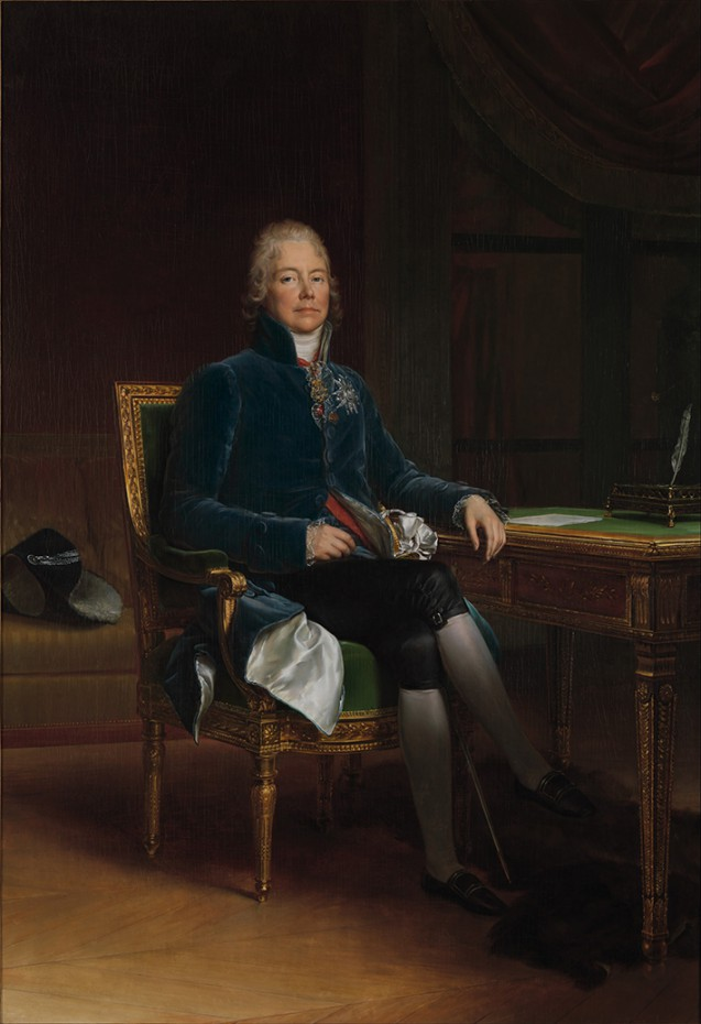Portrait of Charles Maurice de Talleyrand-Périgord by François Gérard