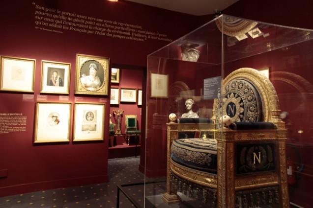 """Exposition """"Napoléon et Paris, rêves d'une capitale"""" Salle © musée Carnavalet - JB Woloch"""