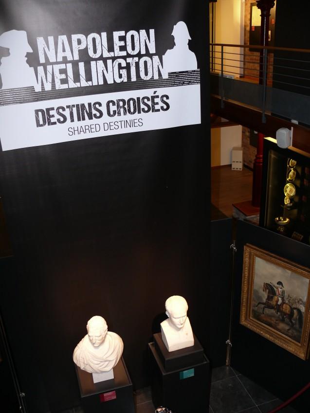 Début de l'exposition Napoléon, Wellington : destins croisés © Musée Wellington, Waterloo