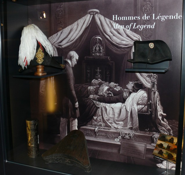 Étienne Claude et Véronique Maton : l'exposition Napoléon, Wellington : destins croisés (mai 2015)