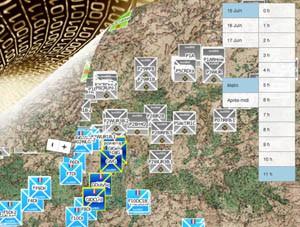 André Heughebaert, Eric Iven :  le projet un peu fou de créer un site dédié à la cartographie de la Campagne de Belgique en Juin 1815 (juin 2015)