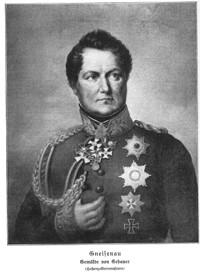 GNEISENAU, August Wilhelm von