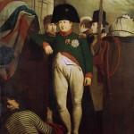 Napoleon Bonaparte on Board 'Bellerophon' in Plymouth Sound