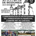 Bicentenaire de l'arrestation du maréchal Ney à Bessonies (46)