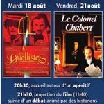 Le château de l'Empéri fait son cinéma : <i>Les duellistes</i> et <i>Le colonel Chabert</i>