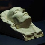 Plaster death mask of the Emperor Napoleon I, Antommarchi subscription, 1833