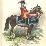 Timbalier. Gendarmerie d'élite : La Giberne, 1900-1901