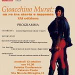 Bicentenaire de la mort de Murat à Reggio (Calabre)