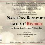 Présentation des Actes du colloque « Napoléon face à l'Histoire »