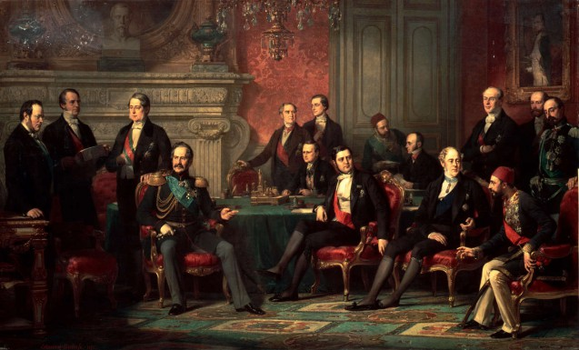 The Congress of Paris, 25 February – 30 March 1856