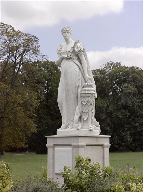L'impératrice Joséphine, sculpture de Vital-Gabriel Dubray à Malmaison