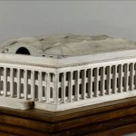 Scale-model for Brongniard's Palais de la Bourse