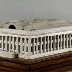 Maquette du Palais de la Bourse de l'architecte Brongniart