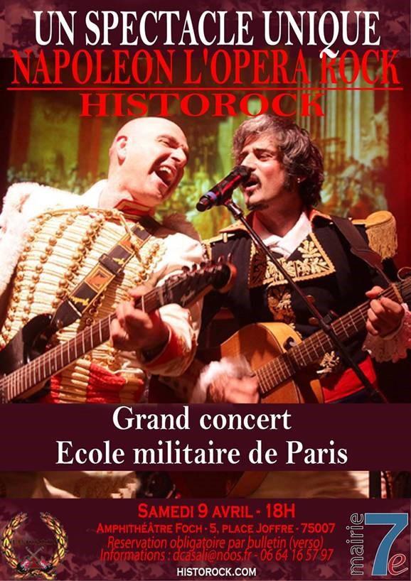 Napoléon, l'opéra rock