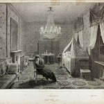 Interior [a view of the room at Longwood where Napoleon died on St Helena]