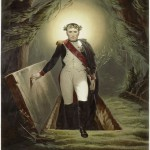 Napoleon emerging from his tomb