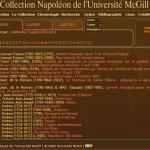 La bibliothèque napoléonienne de l'université McGill