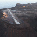 ST  HELENA AIRPORT: Gone with the wind