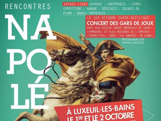 Journées napoléoniennes de LUXEUIL-LES-BAINS