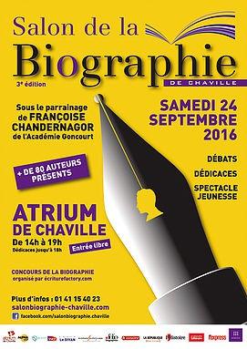 3e Salon de la biographie de Chaville