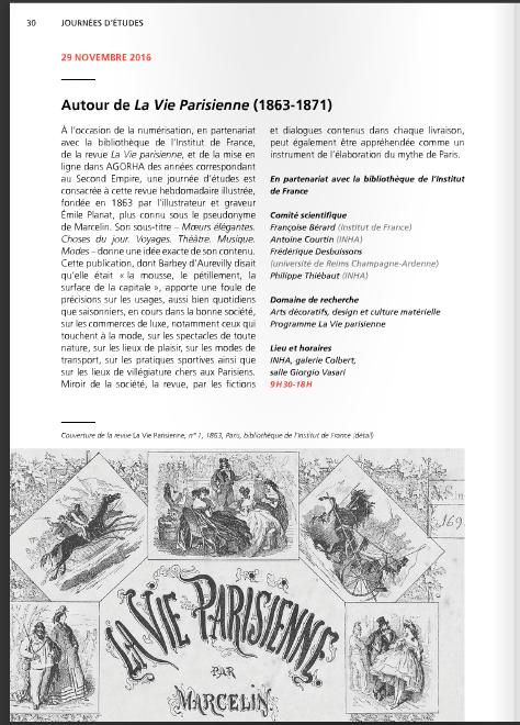 Autour de la <i>Vie parisienne</i> (1863-1871)