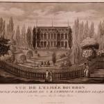 Palais de l'Élysée, vue sous Napoléon Ier